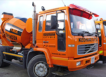 Ready mix concrete in Cork city | Sand and Gravel | Keohane CityMix